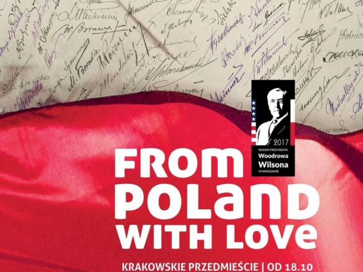 "Wystawa plenerowa ""From Poland with Love"""